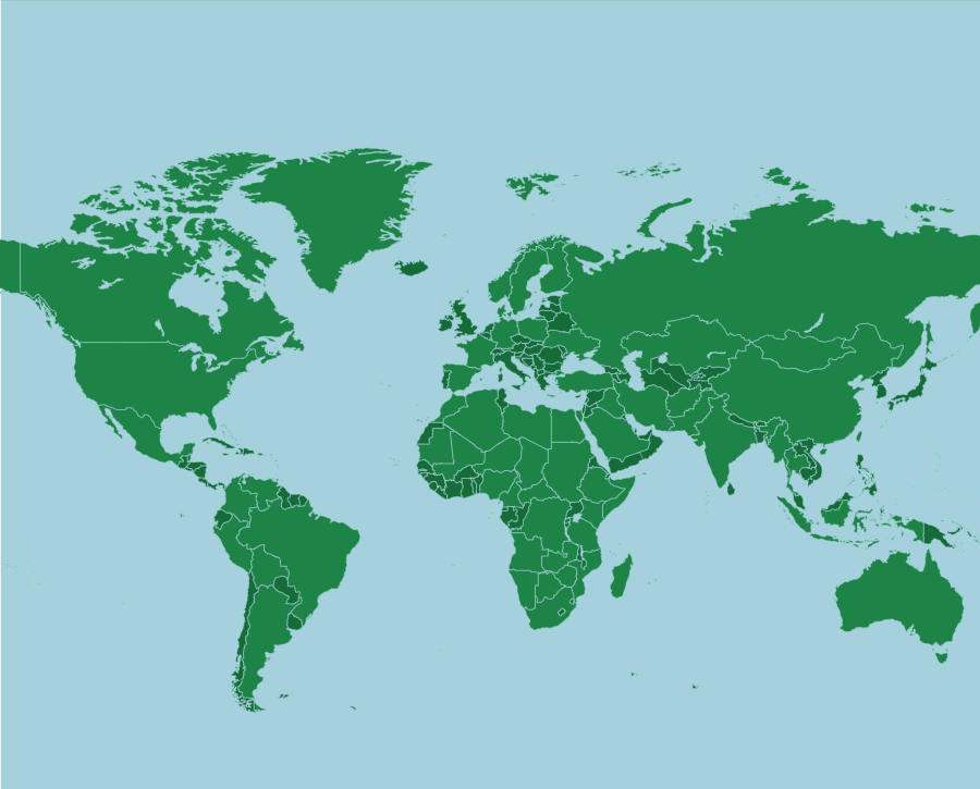 World: Large Countries - Map Quiz Game: Even though there are 195 ...