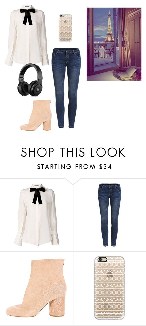 """""""Untitled #11461"""" by jayda365 ❤ liked on Polyvore featuring Alexander McQueen, Maison Margiela and Casetify"""