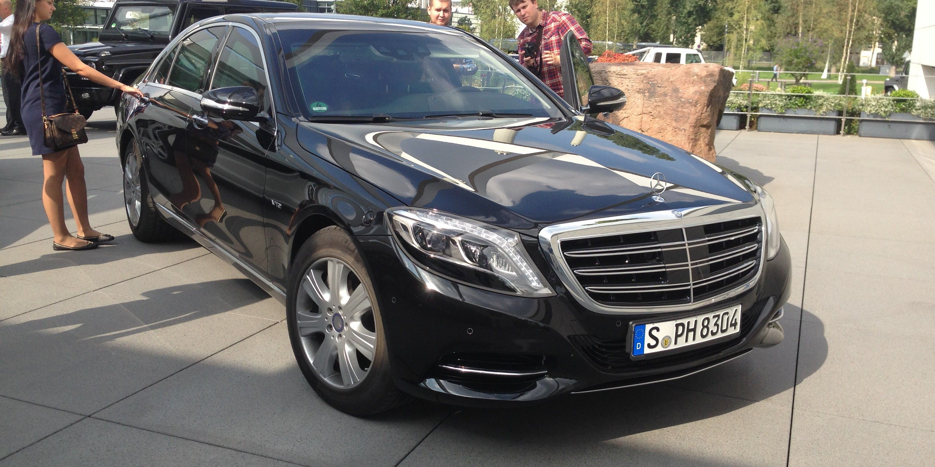 Mercedes-Benz S600 Guard Review : Driving the armoured G-20 cars ...