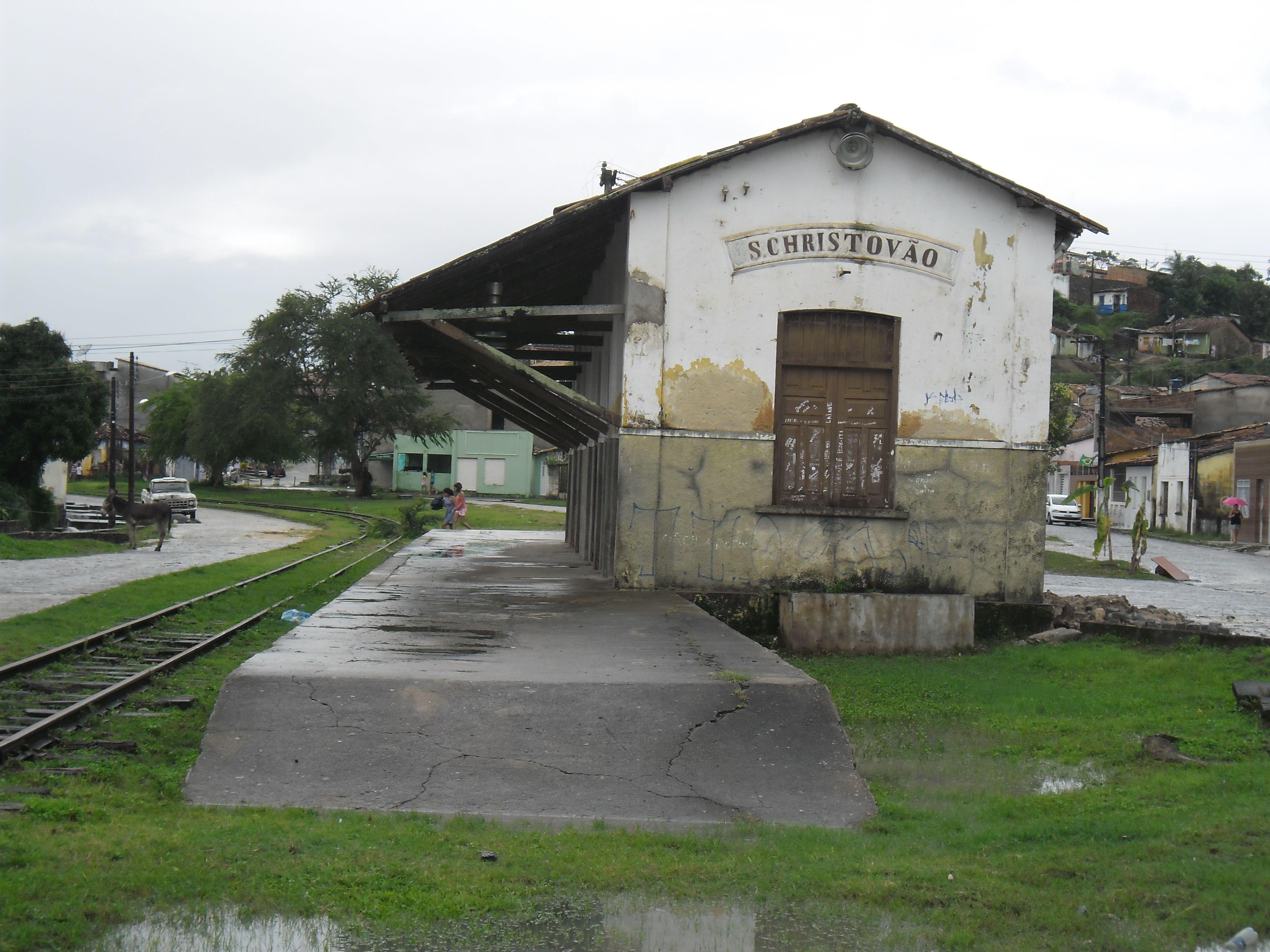 Estação Ferroviária (abandonada)_São Cristóvão_Sergipe_Brasil