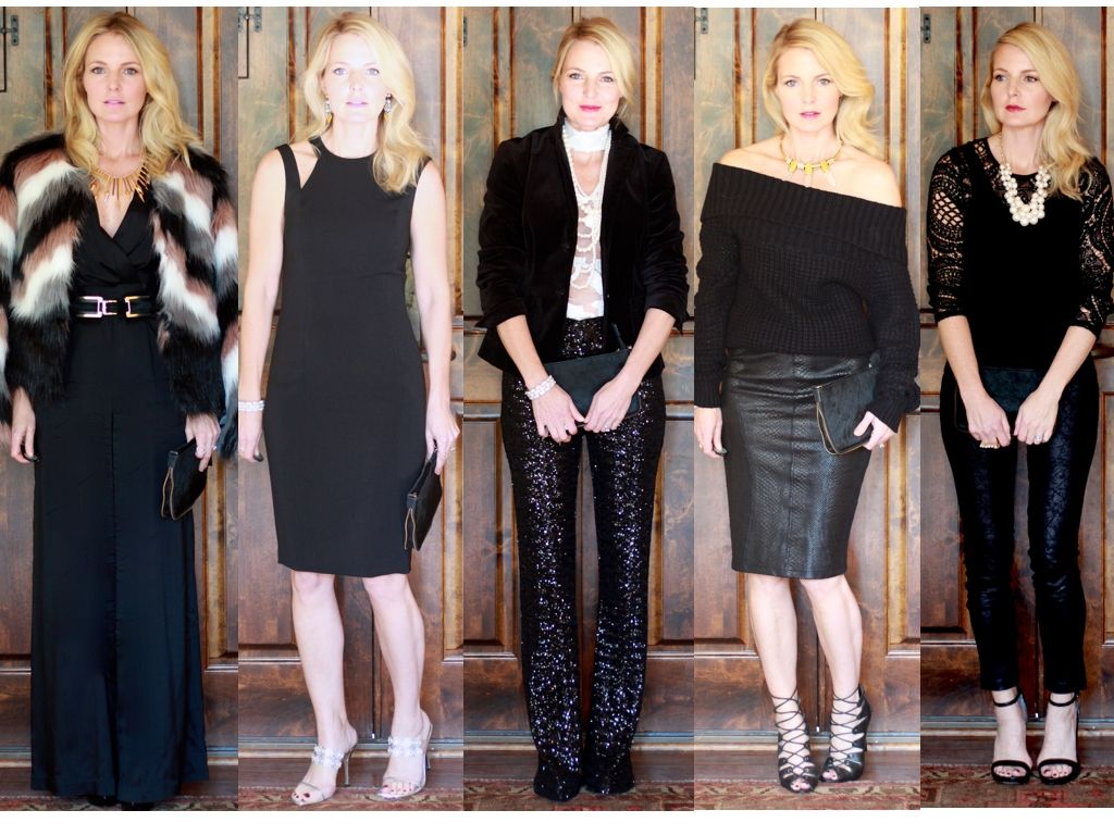 caacde2b33dc FIVE Holiday Party Outfit Ideas | Busbee Style Videos | Pinterest ...
