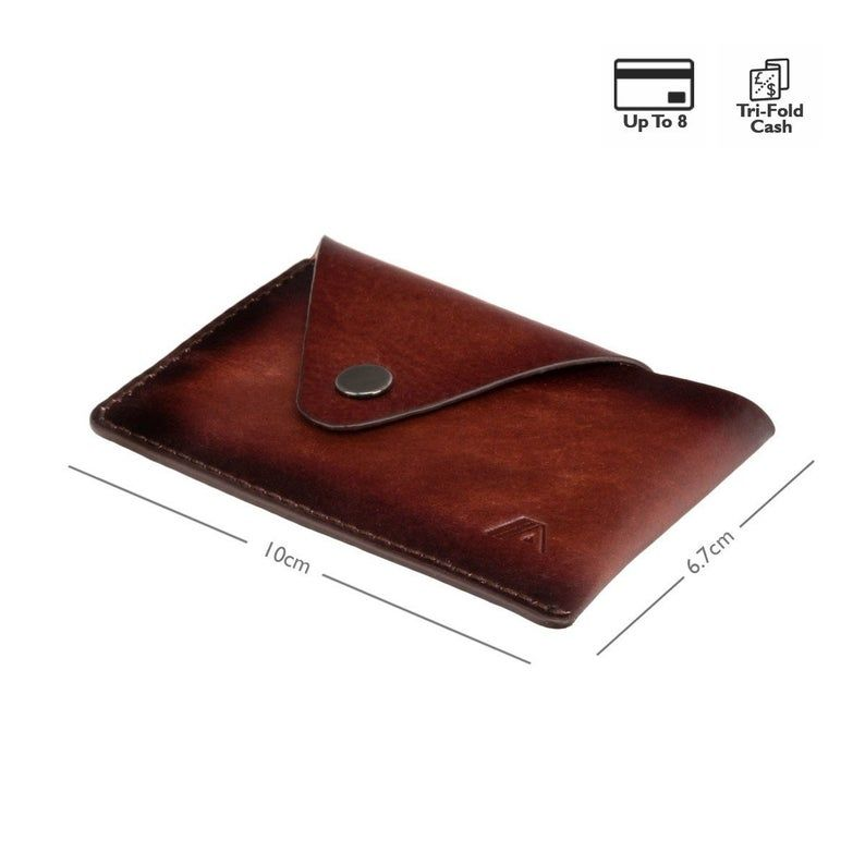 Smart Leather Business Card Holder Small And Slim Leather Etsy Leather Business Cards Leather Business Card Holder Minimal Leather Wallet