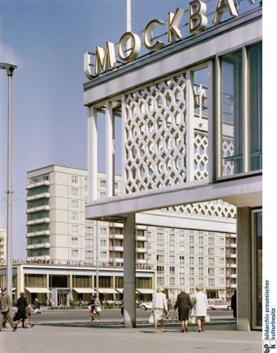 Mockba Josef Kaiser Amber 1959 Architecture Berlin Germany East Berlin