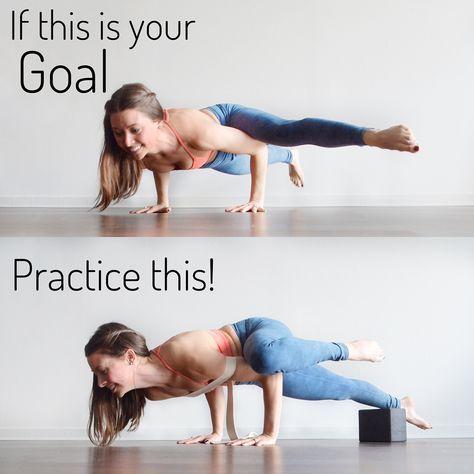 Eka Pada Koundinyasana Ii Aka Fancy Arm Balance I Actually Really Love Getting Into This Arm Balance And Once You Figure It Yoga Moves Easy Yoga Workouts Yoga