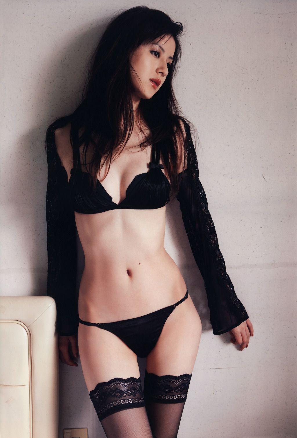 Cute lingerie shared asian
