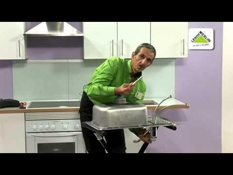 Instalar un fregadero y un grifo en una encimera leroy for Fregaderos leroy