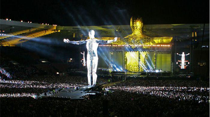 TAKE THAT Progress Stadium Tour 2011 Creative Director ...