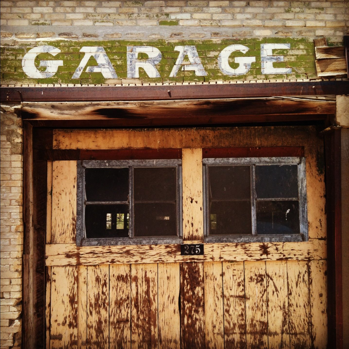 Old Garage In Southern Utah Signs Pinterest Garage Doors