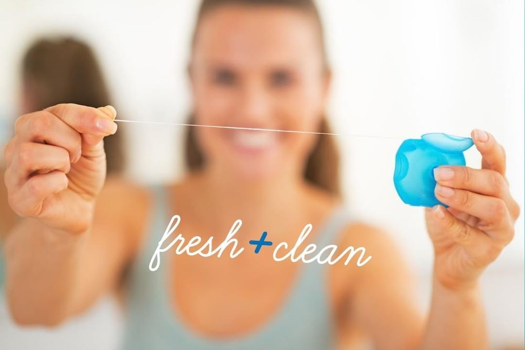Flossing is important for your dental health Dentist