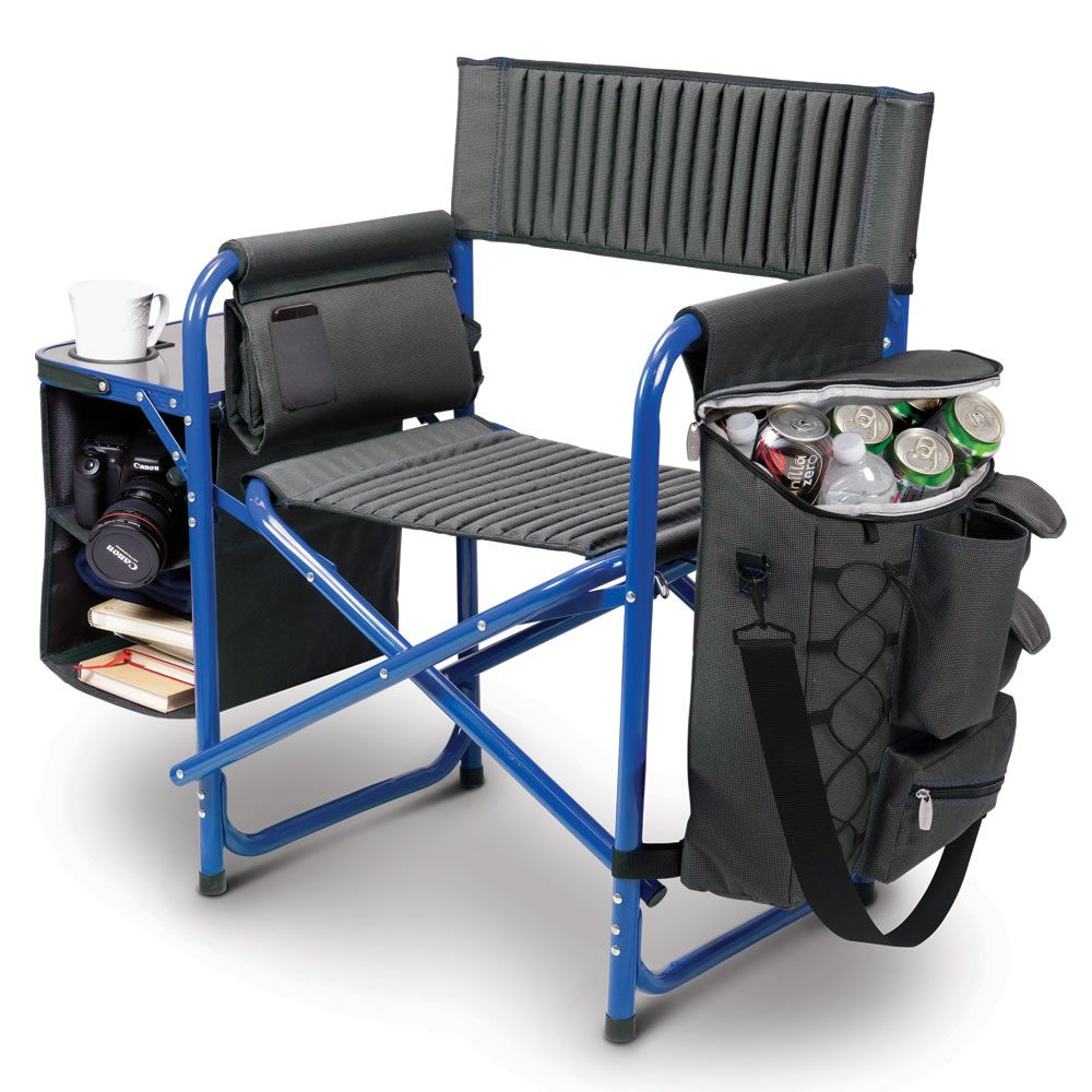 92567ed8f The Backpack Cooler Chair - Hammacher Schlemmer | Sports & Leisure ...