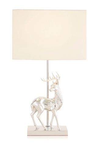 Buy stag chrome table lamp from the next uk online shop rustic buy stag chrome table lamp from the next uk online shop aloadofball Gallery