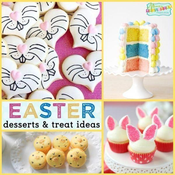 Easter: Easter Desserts and Easy Easter Treat Ideas. The best part of Easter celebrations? The delicious Easter Treats of course. Keep reading...I have some super cute and yummy Easter dessert ideas to share.Be sure to check out all our Easter Party Ideas and Inspiration. #easter #party #parties #holiday #baking #bunny #treats #desserts #diy #easterparty #cookies #eastercupcakes #Easter treats fruit
