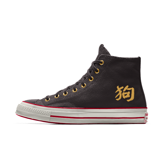 Converse Black Chuck 70 tiger high top sneakers | Browns
