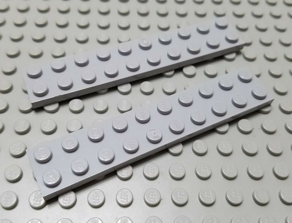 LEGO Lot of 4 Dark Gray 6x6 Plates