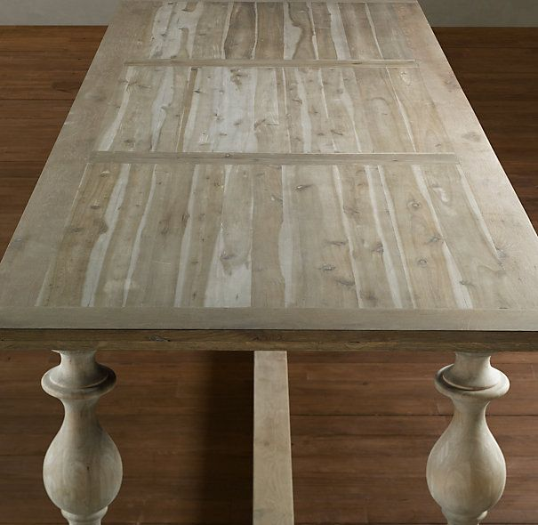 17th century monastery table restoration hardware