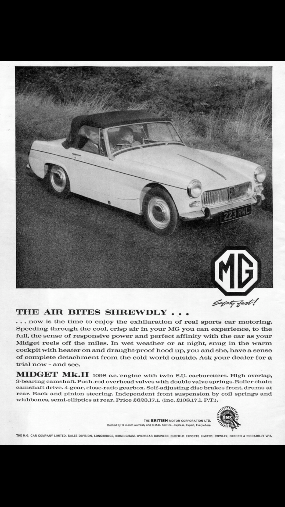 Mg midget steering rack gear ratio apologise, but