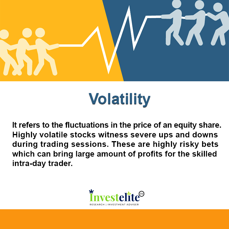 It Refers To The Fluctuations In The Price Of An Equity Share