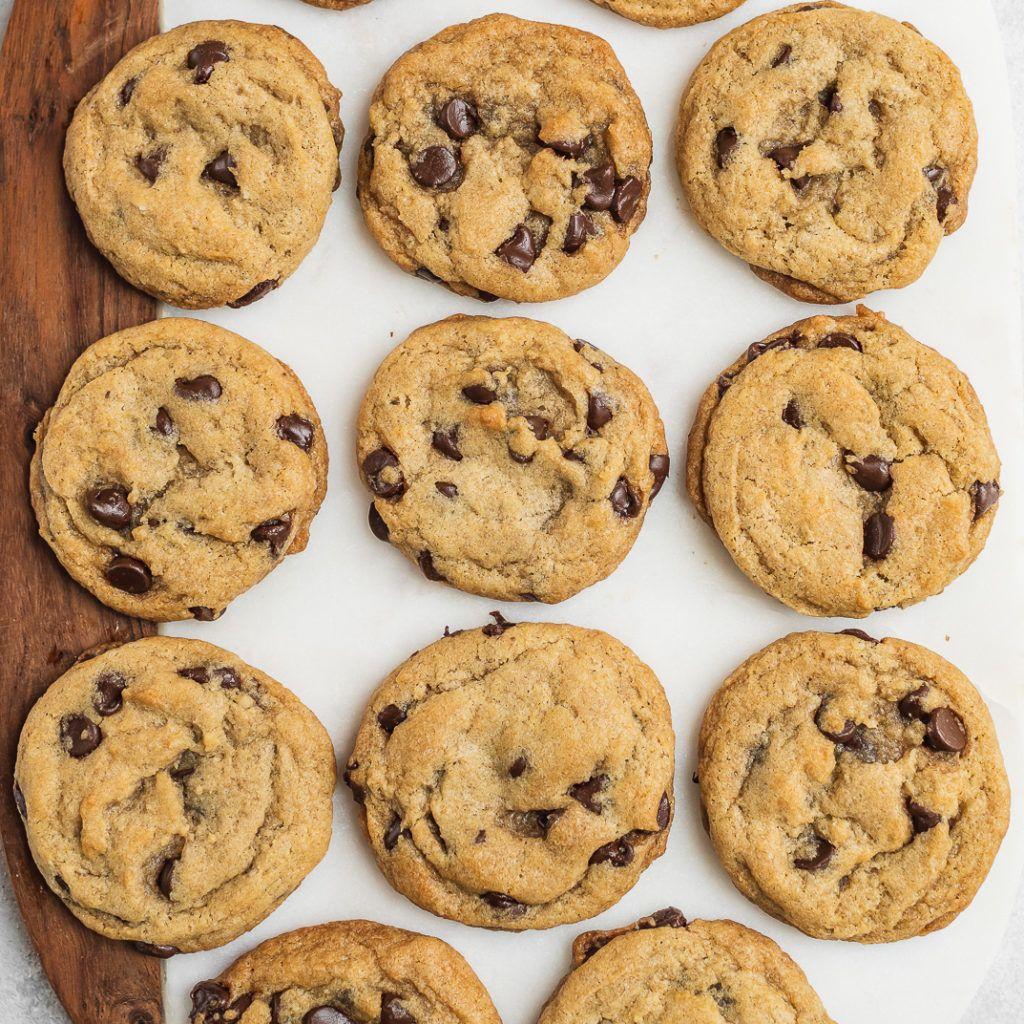 Classic Vegan Chocolate Chip Cookies Recipe Vegan Chocolate Chip Cookies Cookies Recipes Chocolate Chip Vegan Chocolate Chip