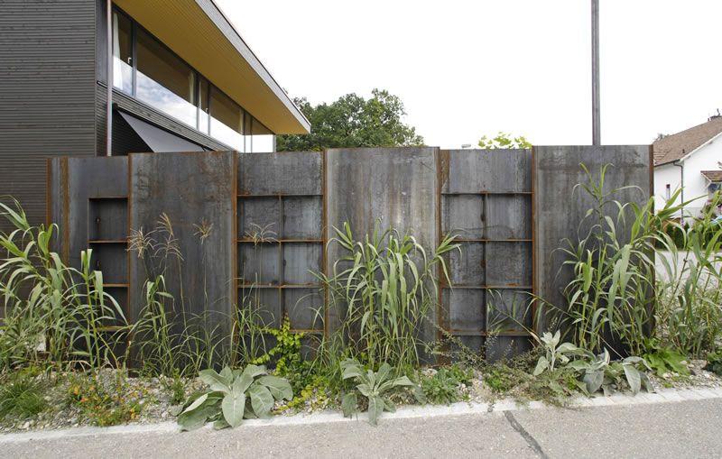 Stahl im Garten | angie | Pinterest | Stahl, Gärten und Galabau