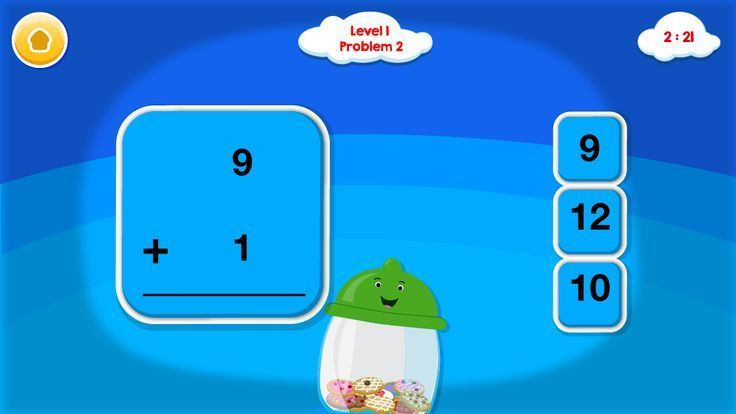 Smart Cookie Math App Addition & Subtraction App Math