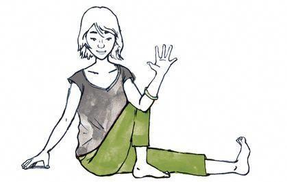 4 basic yoga poses with instructions  yoga poses learn