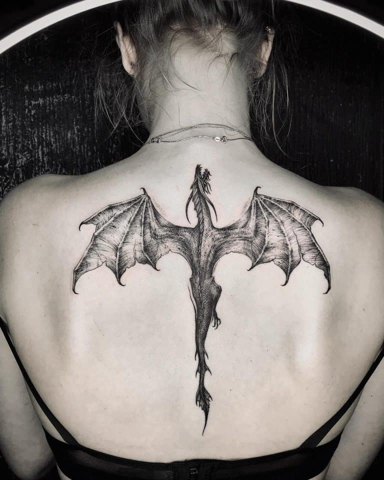 Top 57 Best Dragon Tattoos for Women - [2021 Inspiration Guide]