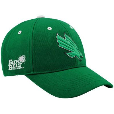 Top of the World North Texas Mean Green Green Triple Conference Adjustable Hat
