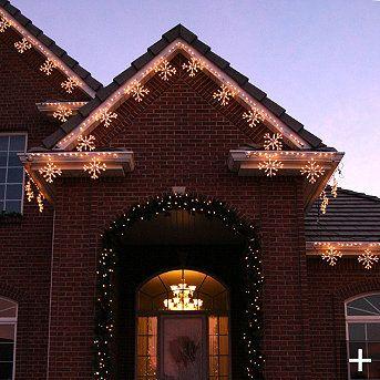 Snowflake lights winterchristmas pinterest snowflake lights snowflake lights snowflake christmas aloadofball Choice Image