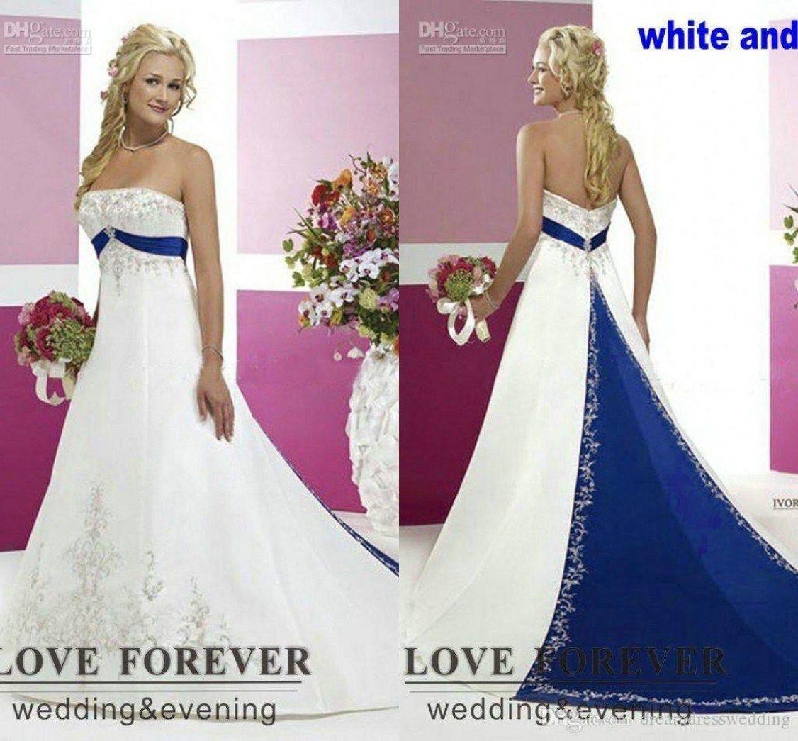 30 Amazing Black And White Plus Size Wedding Dresses Best Inspiration Purple Wedding Dress A Line Wedding Dress Blue Wedding Dresses [ 1045 x 1126 Pixel ]