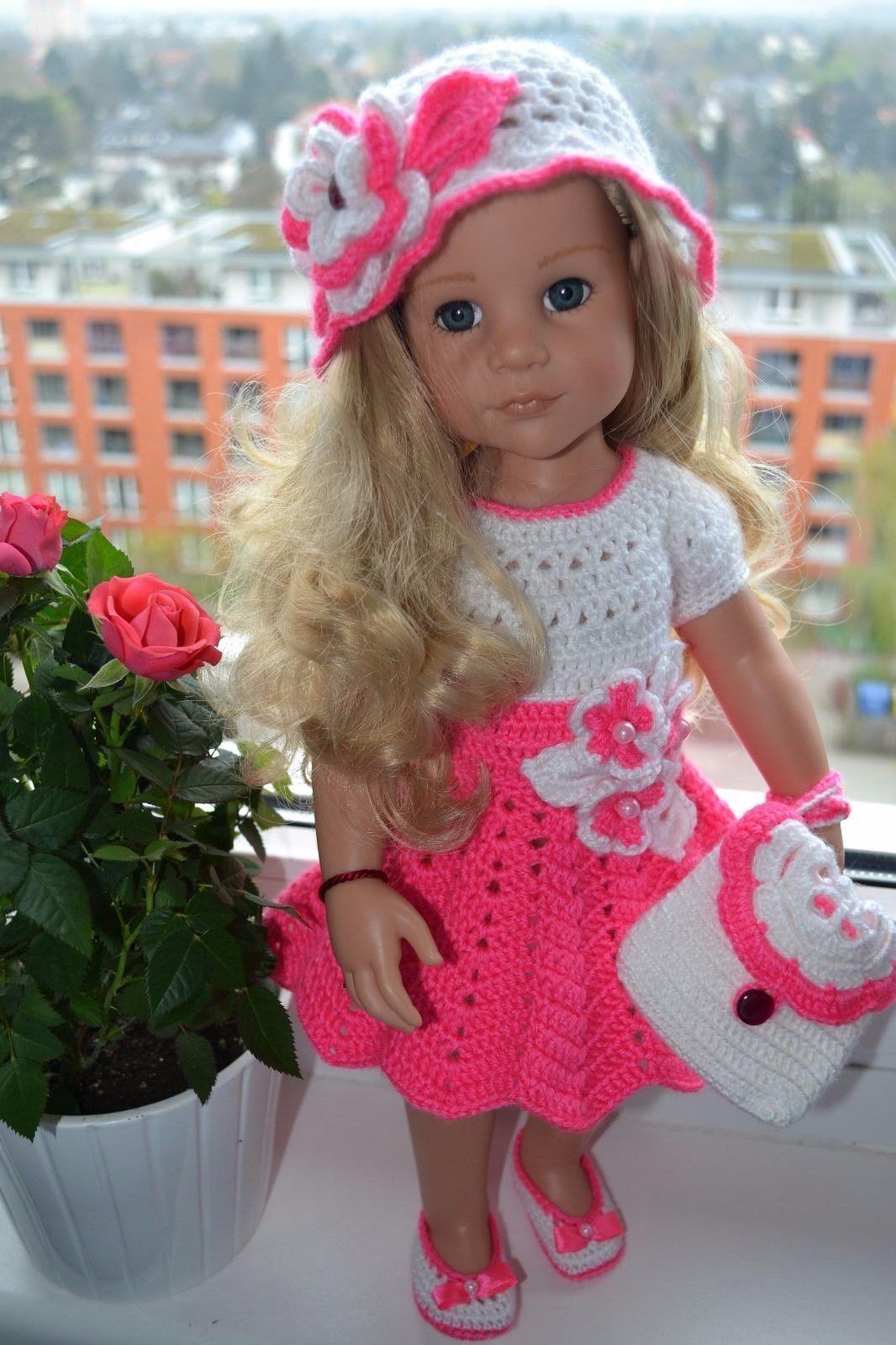 Puppenkleidung für Götz Puppe 45-50 cm, 4 teiliges Set (ohne Götz ...