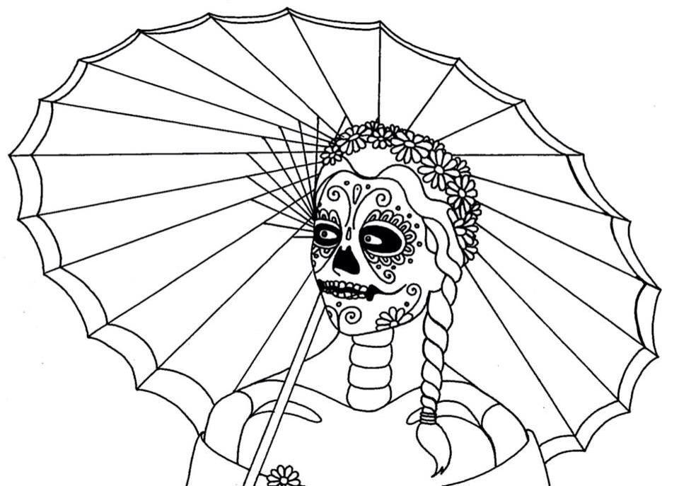 Pin de Barbara Konwinski 🔮💎🕉🔥📿💀☠🌹🌛🌝🌜 en Skull Day of the ...