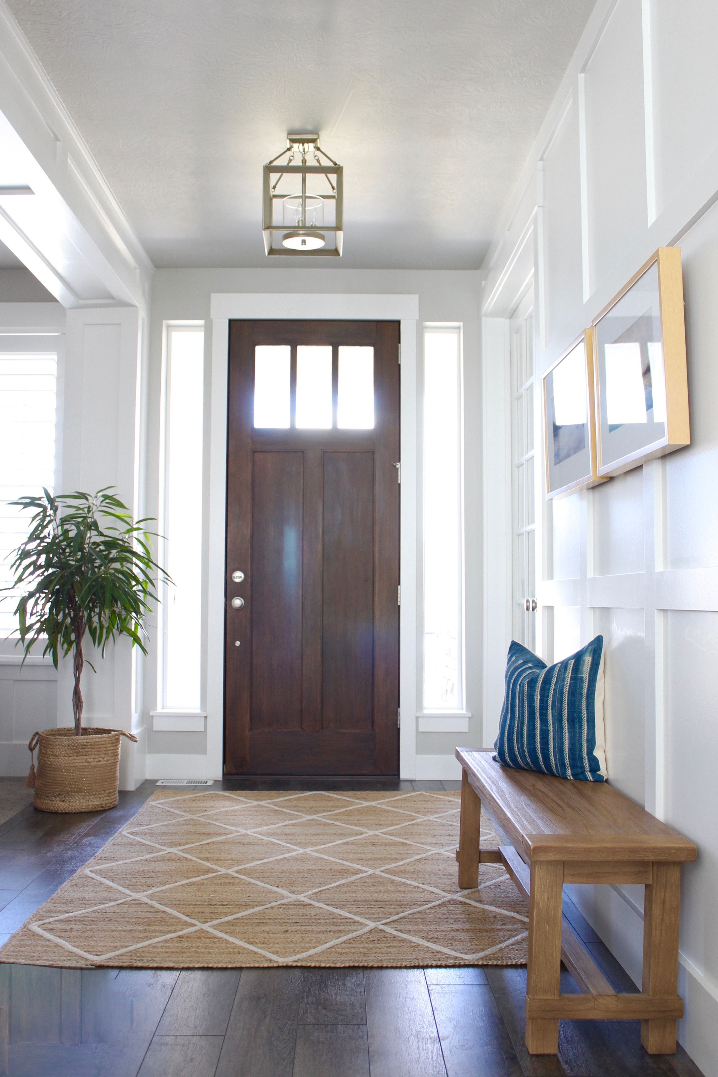 Entry Way Rug Needs To Have The Right Pattern And