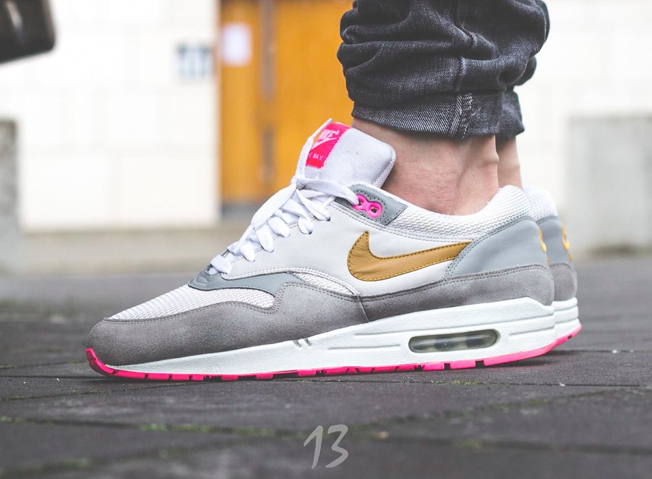 Sweetsoles – ascoyne: Nike Air Max 1 Patta X Parra Burgundy
