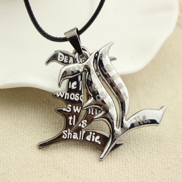 Death Note Double L Anime Necklace - OtakuForest.com