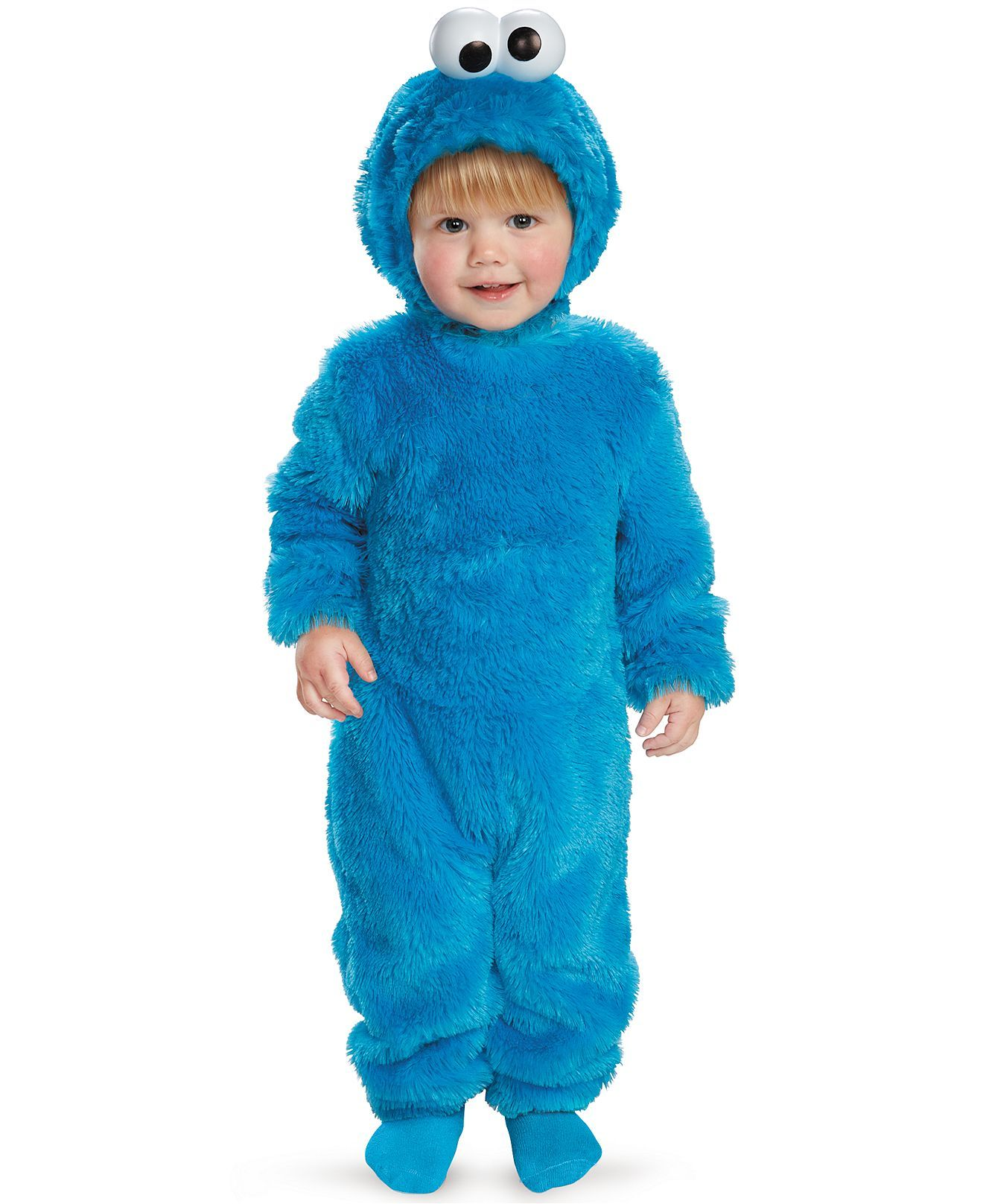 Disguise Kids Costume Little Boys Or Little Girls Light Up Cookie Monst Cookie Monster Costume Cookie Monster Costume Toddler Baby Halloween Costumes For Boys