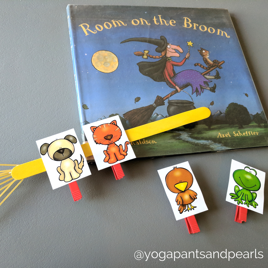 Room On The Broom Scavenger Hunt