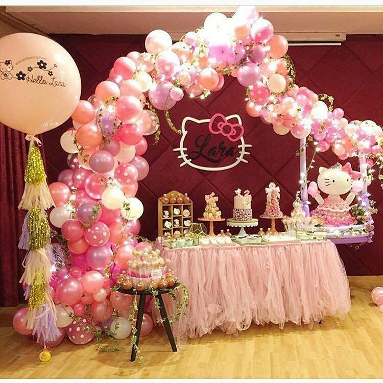 25+ melhores ideias sobre Decoração De Festa De Hello Kitty no Pinterest  Qu