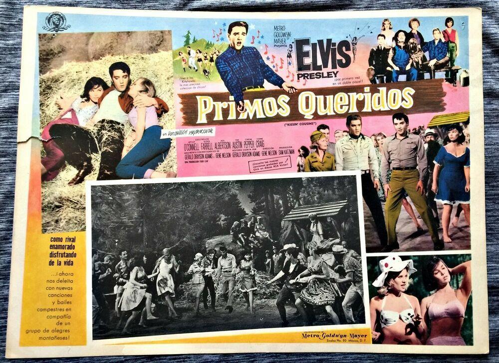 Primos Queridos Elvis Presley Kissin Cousins Mexican Movie