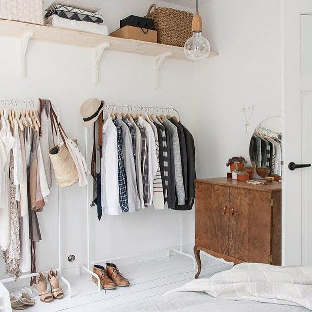 """""""'Tis the season for closet makeovers! This one, by @holly_avenuelifestyle, has us seriously inspired. More before and after closet makeovers when you…"""""""