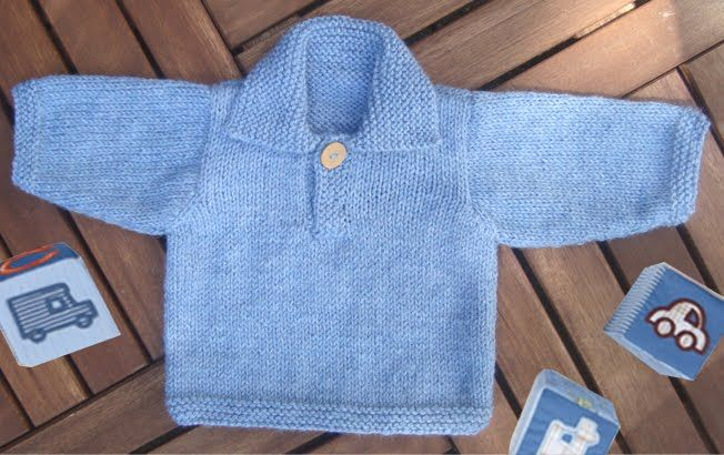Knit Baby Boy Sweater Pattern For Free Baby Boy Sweater Knitting