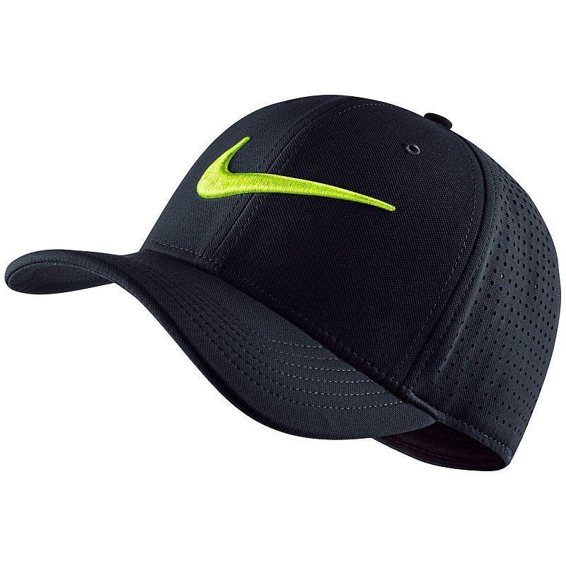 145b0f1eef84c Men's Nike Dri-FIT Vapor Train Swoosh Flex Cap, Grey (Charcoal ...