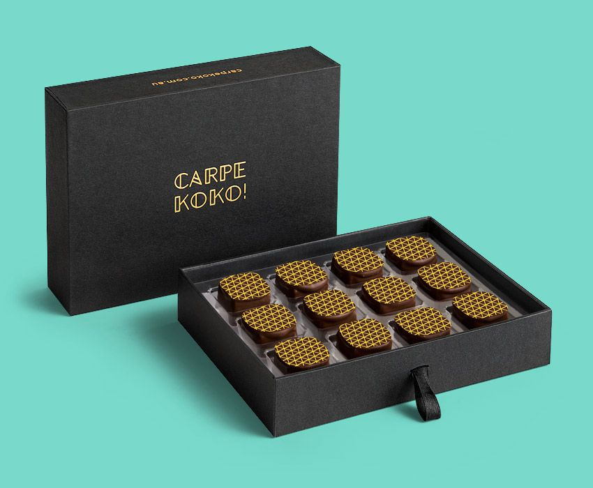 Carpe koko salted caramel 12 piece chocolate gift box buy online salted caramel 12 piece chocolate gift box buy online for delivery negle
