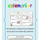 Bonne idée pour faire des messages du jour en avance...peutetre un paquet du message du jour at avoir exemples comme ca...These printables are a great addition to your morning calendar routine to promote active engagement! They could also be used as a calendar centre a...