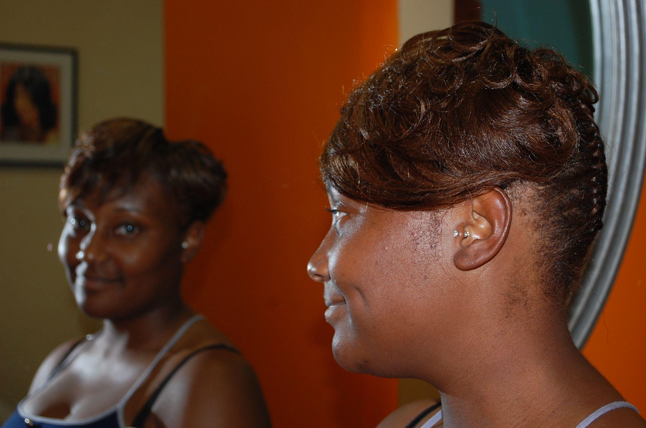 Short Hair Style Hair Highlights Salon Va Hair Weave Salon
