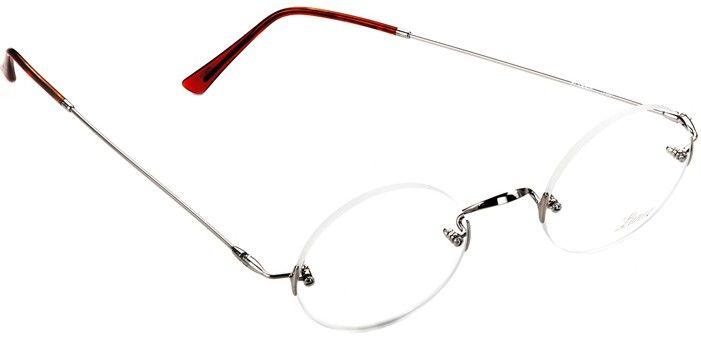 80d6fafe10 Lunor Classic Round Silver Steve Jobs glasses
