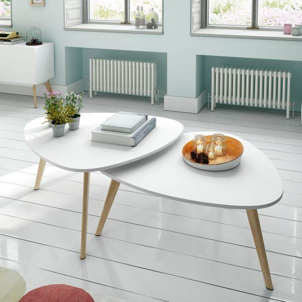 Tables basses gigognes design Compas