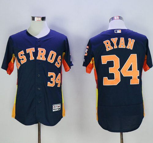 6e3a73f69 ... reduced astros 34 nolan ryan navy blue flexbase authentic collection  stitched mlb jersey d6c4c f532a