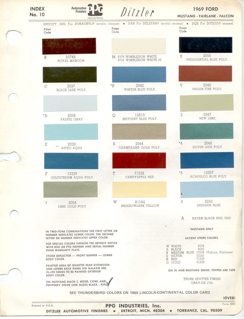 Paint chips 1969 ford 1969 ford bronco pinterest paint chips paint chips 1969 ford sciox Gallery