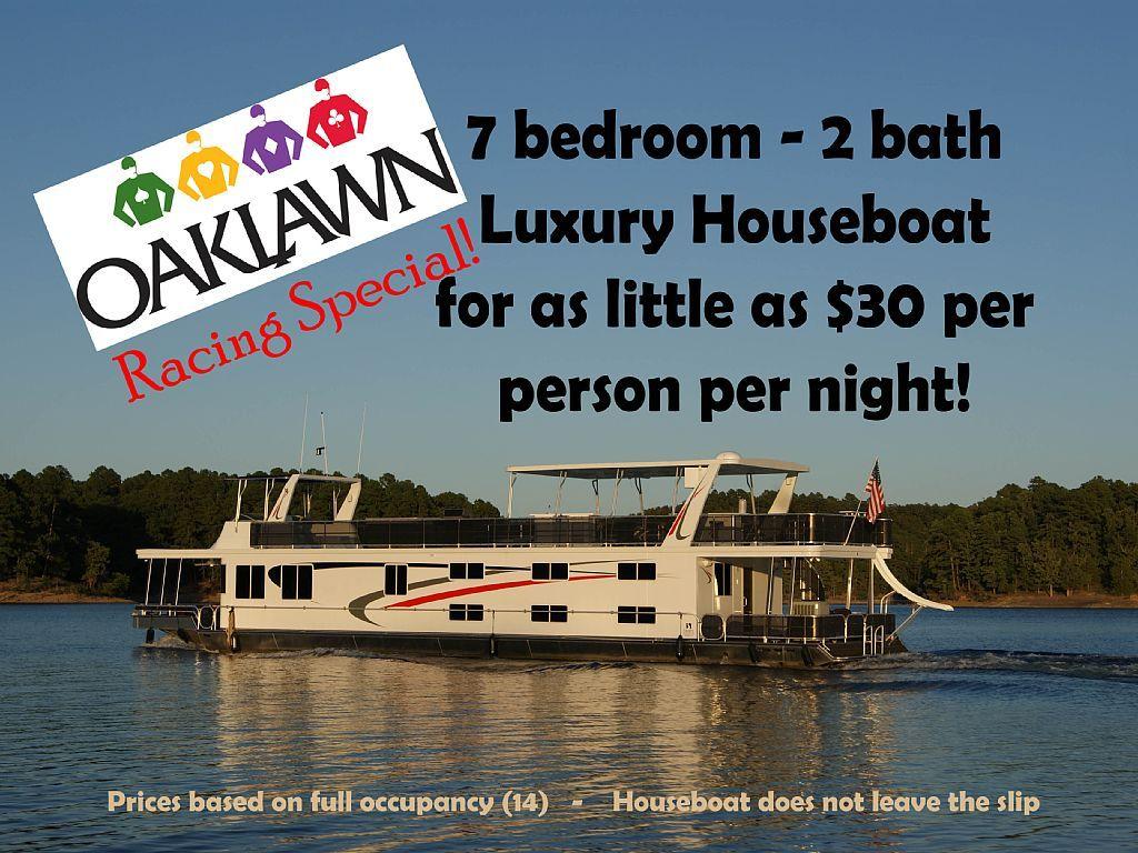 161193 7 bedroom 2 bath luxury houseboat