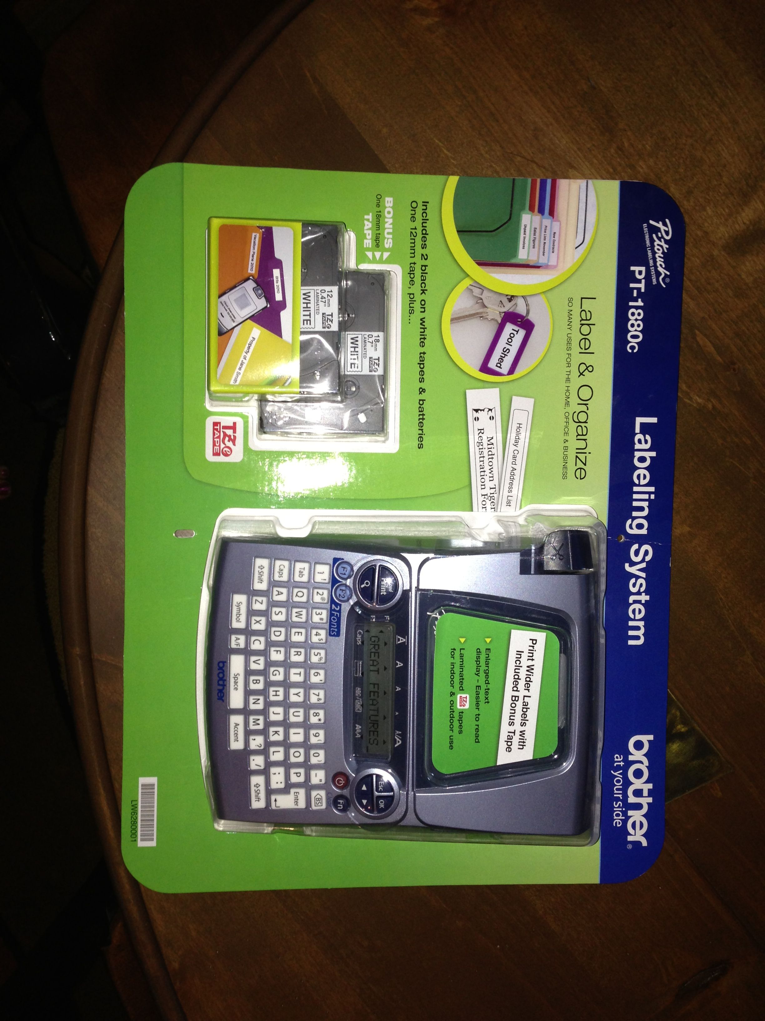 Great Brother P Touch Label Maker Ready To Go At Costco For Less